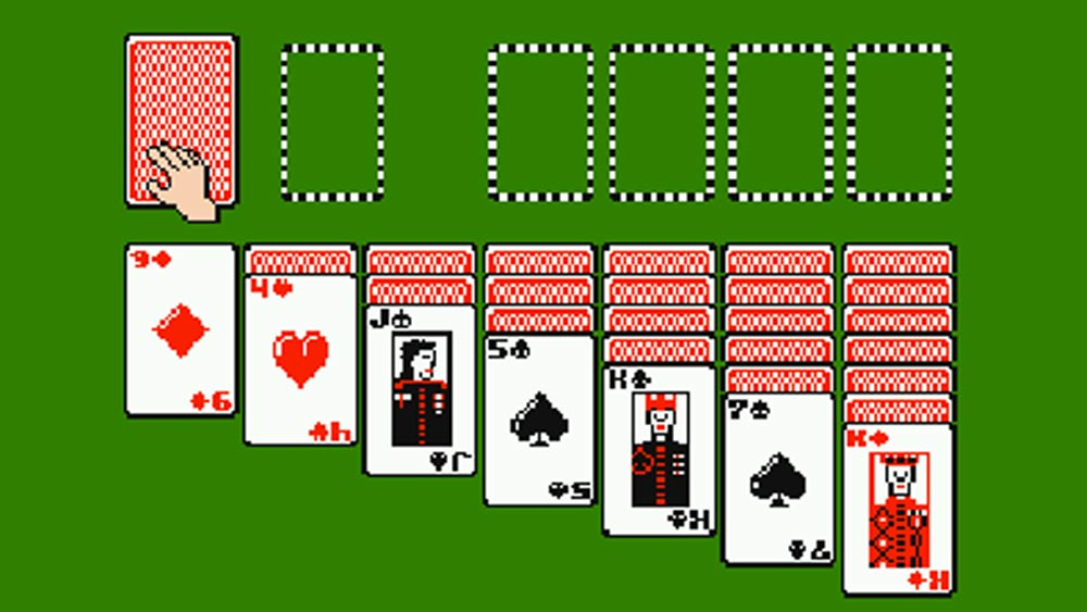 Solitaire-©-1989-Odyssey-Software