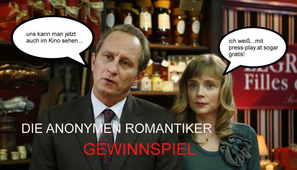 Gewinnspiel: Die Anonymen Romantiker