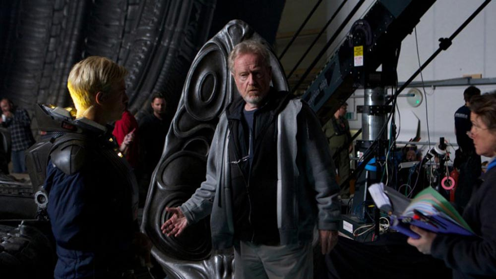 Entdecke PROMETHEUS – Interview mit Ridley Scott
