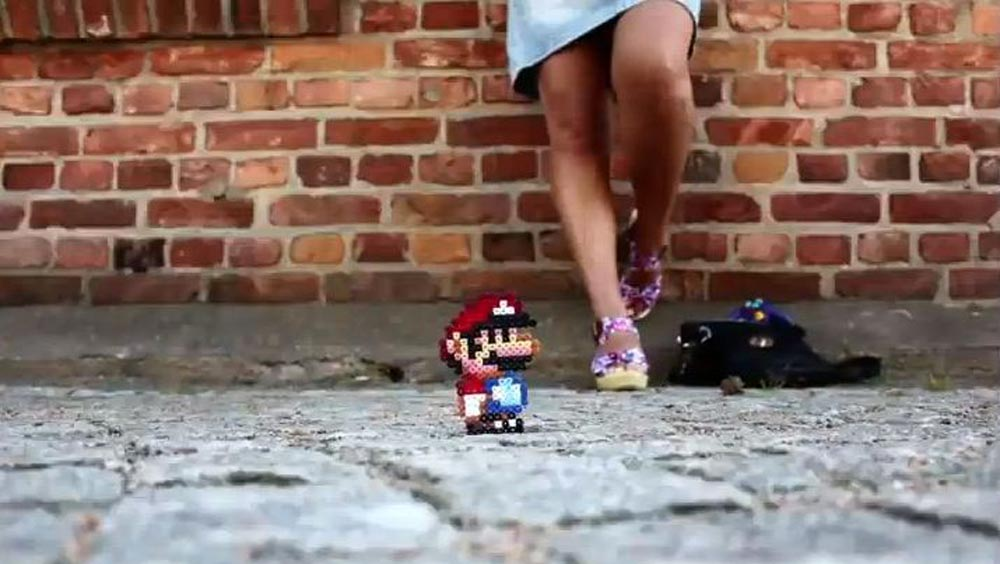Clip des Tages: Super Mario Beads (Kurzfilme)