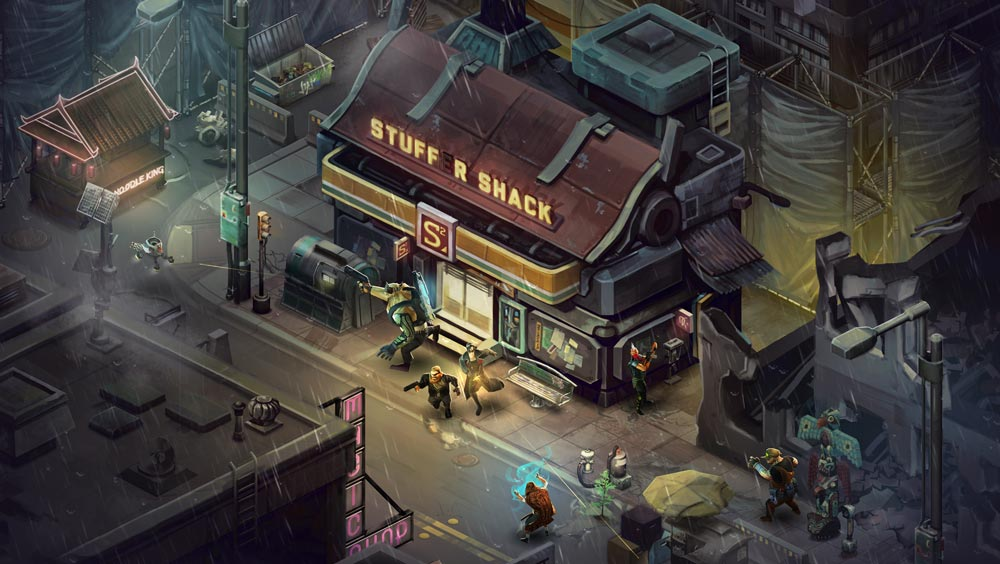 The Art of Shadowrun Returns