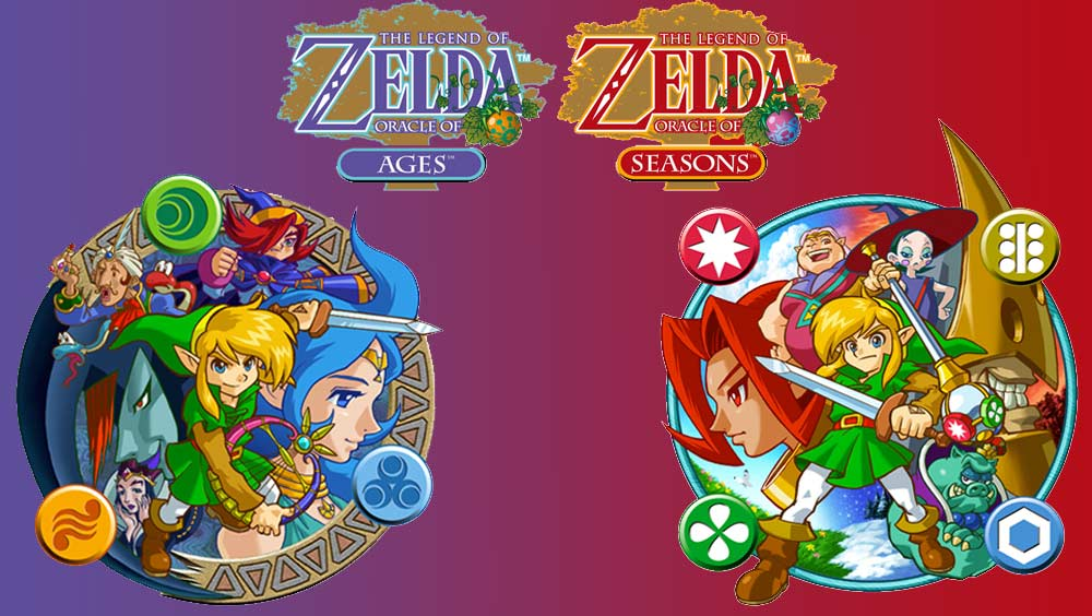 The Legend of Zelda: Oracle of Ages / Oracle of Seasons