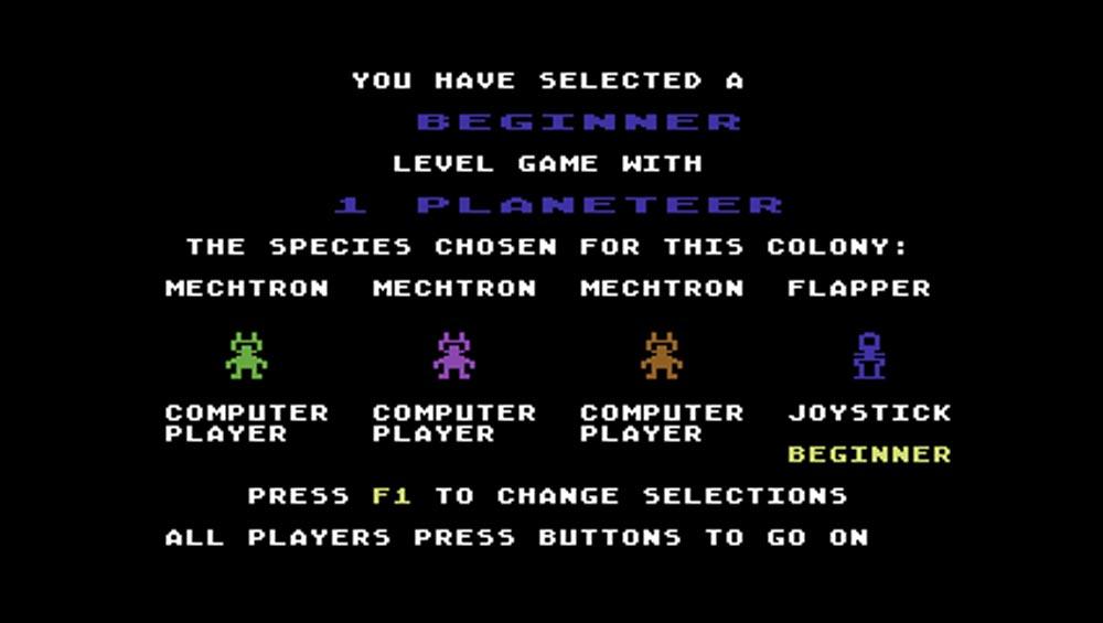 M.U.L.E. © 1983 Electronic Arts, Inc, Ozark Softscape