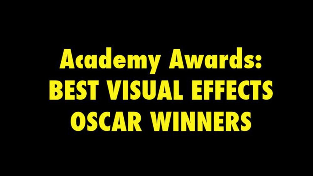 Clip des Tages: Best Visual Effects Oscar Winners (1977 – 2012)