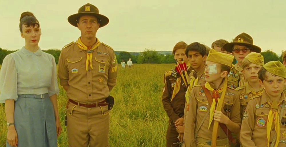 Clip des Tages: Wes Anderson Centered