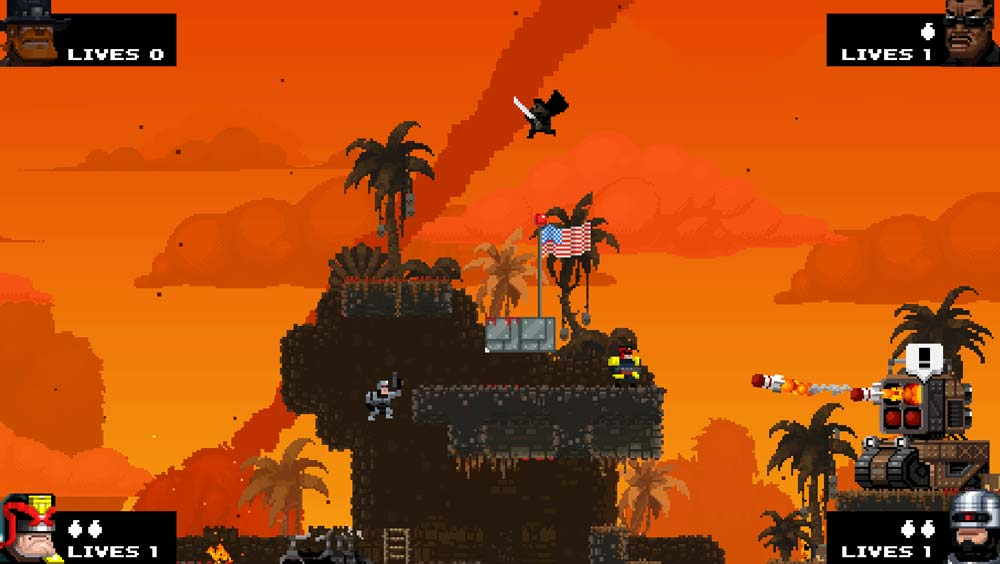Preview zu Broforce