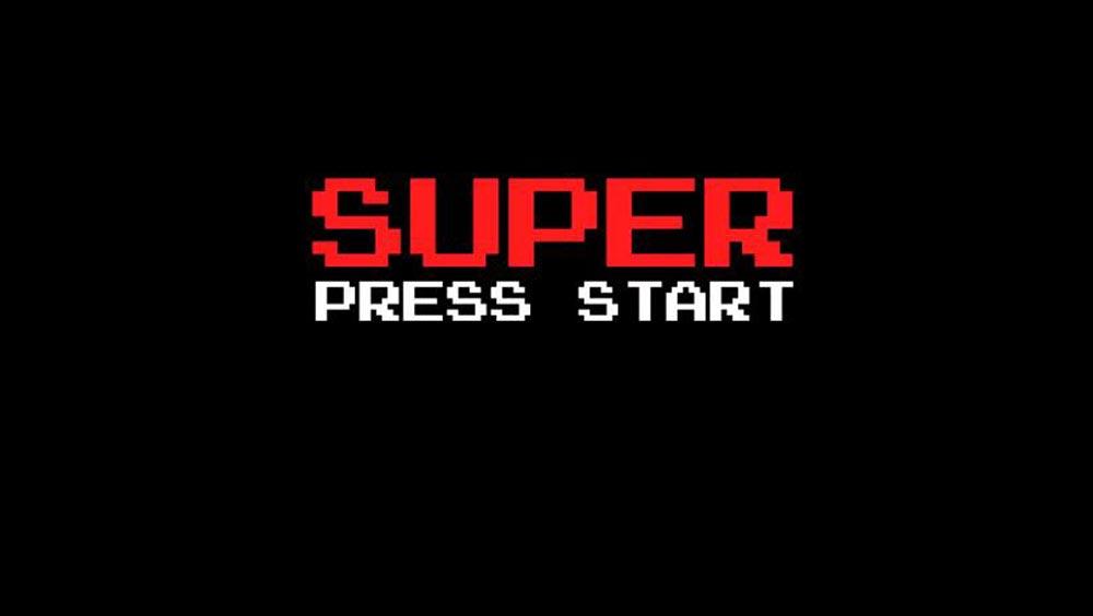 Clip des Tages: Super Press Start (Every SNES Start Screen)