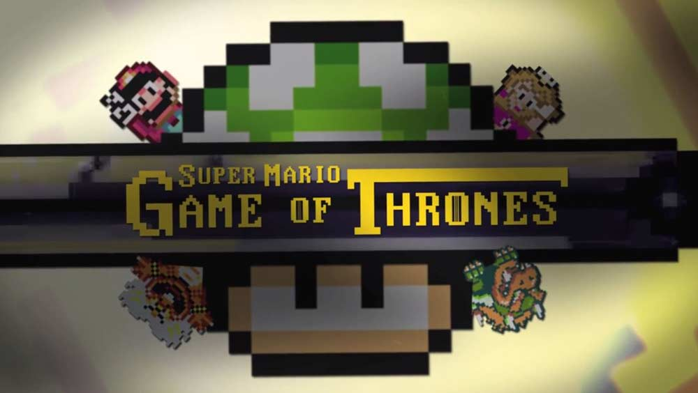 Clip des Tages: Super Mario-Game of Thrones