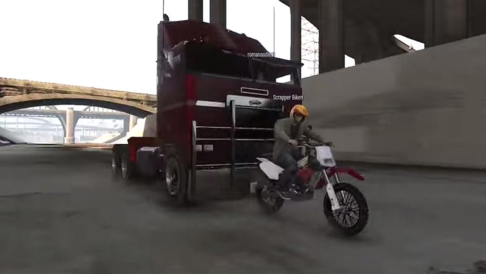 Clip des Tages: Terminator 2 – Die Verfolgungsjagd als Remake in GTA V