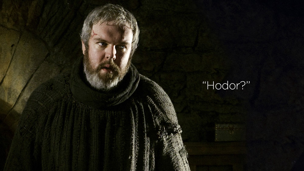 Clip des Tages: Hodor on Family Feud