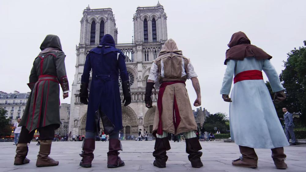 Clip des Tages: Assassin's Creed Unity Meets Parkour