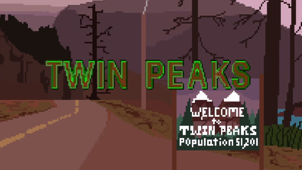 Clip des Tages: NES Style Twin Peaks Intro