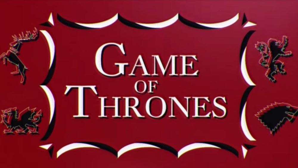 Clip des Tages: Game of Thrones im 60's / Saul Bass Stil