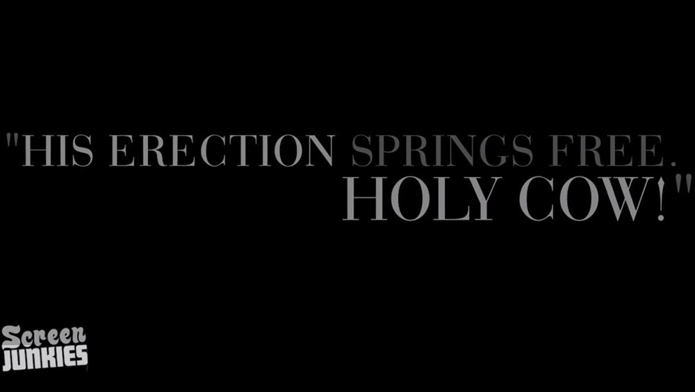 Clip des Tages: Fifty Shades of Grey (Honest Trailers)