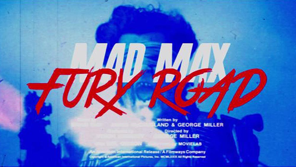 Clip des Tages: Mad Max: Fury Road (80's Style)