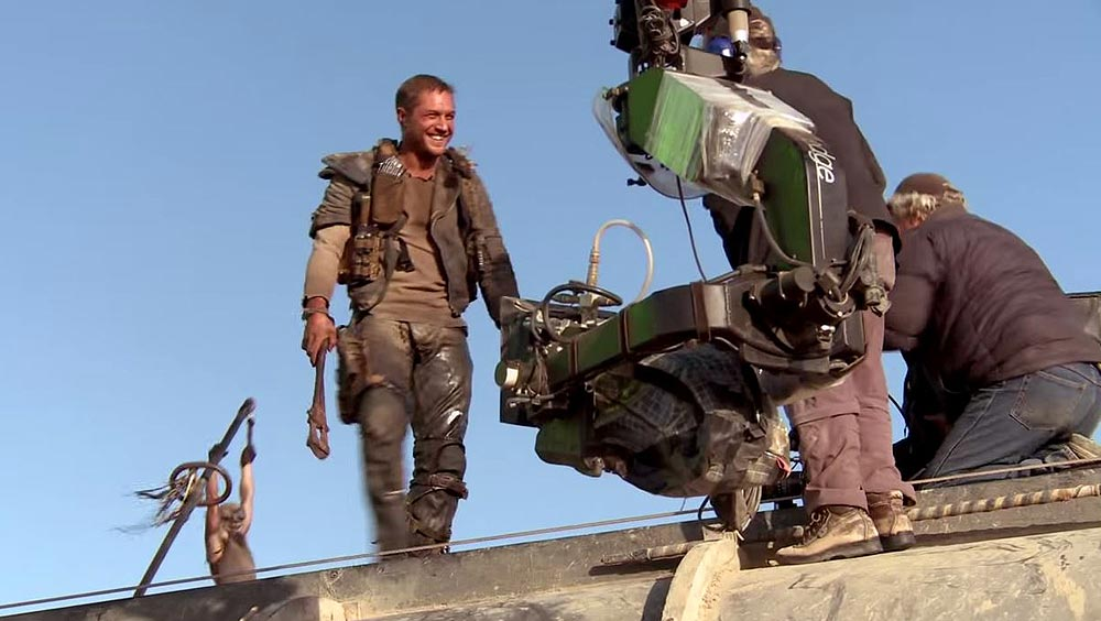 Clip des Tages: Mad Max: Fury Road (Behind The Scenes)