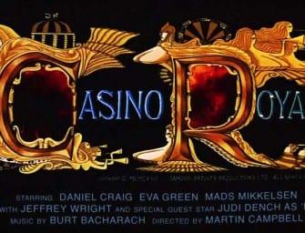 Clip des Tages: Casino Royale – 1960s Style Trailer