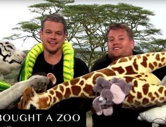 Clip des Tages: Matt Damons Filme in 8 Minuten (nachgespielt von Matt Damon und James Corden)