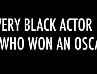 Clip des Tages: Die afroamerikanischen Oscar-Gewinner im Überblick