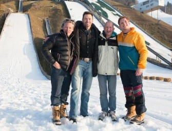 "Eddie ""The Eagle"" Edwards Autogrammstunde und Photocall in Österreich"