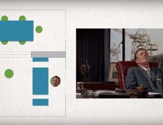 Clip des Tages: Wie Alfred Hitchcock eine Szene gestaltet