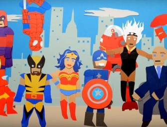 Clip des Tages: DC vs. Marvel Box Office Battle