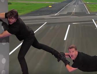 Clip des Tages: Alle Filme von Tom Cruise in 9 Minuten (nachgespielt von Tom Cruise und James Corden)