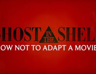 Clip des Tages: Die vielen Probleme der Ghost in the Shell-Adaption